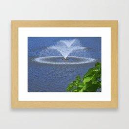 Ornamental Splash Framed Art Print