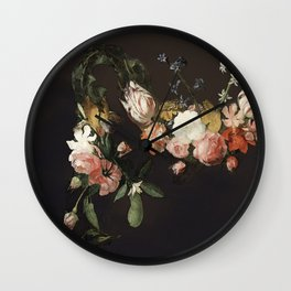 Every hour of the light and dark is a miracle Wall Clock