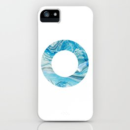 Hall-O Blue iPhone Case