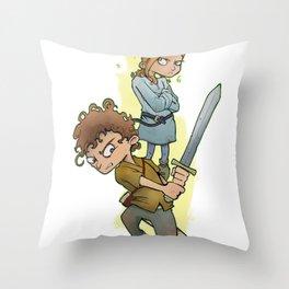 Spell/Sword Throw Pillow