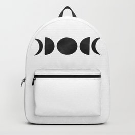 minimalist moon phases Backpack