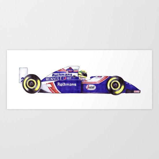 Senna Art Print
