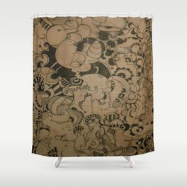 Exile of The Rat king  Shower Curtain