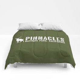 Deer: Pinnacles, California Comforters