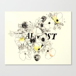 Almost Canvas Print