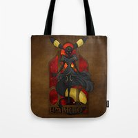 "umbreon Tote Bags featuring Rule 63: Umbreon by Barbora ""Mad Alice"" Urbankova"
