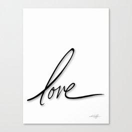 Love No. 2 Canvas Print