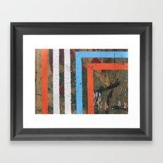 MADRID STRIPES Framed Art Print