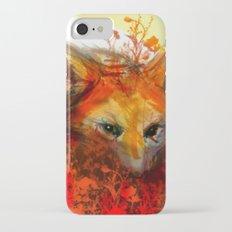 Fox in Sunset III iPhone 7 Slim Case