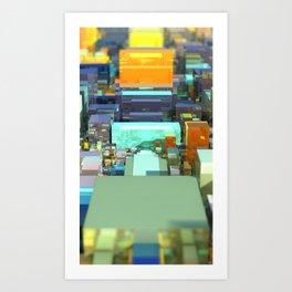 Metroscape Art Print