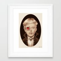 "steampunk Framed Art Prints featuring ""Steampunk"" by Giulio Rossi"