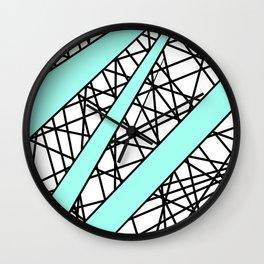 Lazer Dance T Wall Clock
