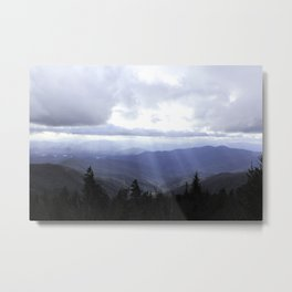 Clingmans Dome Metal Print