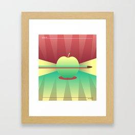 Apple 05 Framed Art Print