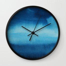 Indigo Ocean Dreams Wall Clock