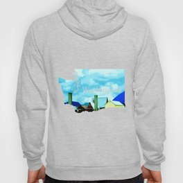 All At Once We Had It In For The Sky Hoody