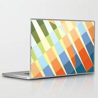 art deco Laptop & iPad Skins featuring Art Deco by Robert Cooper