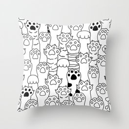 Paw Paw Throw Pillow