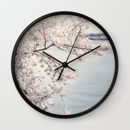 Cherry Blossoms of DC Edition 1 Photography Print Wall Clock