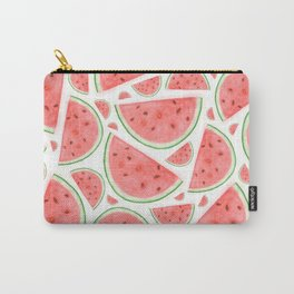 Watercolour Watermelon Carry-All Pouch