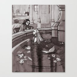 The Magic Fountain Canvas Print