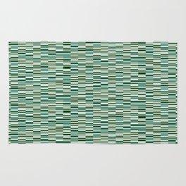 Vintage Lines Forest Green Rug