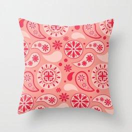 Bohemian Dream in Pink Throw Pillow