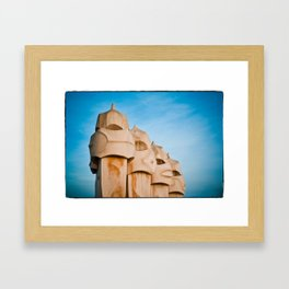 Gaudi - Barcelona, Spain Framed Art Print