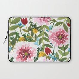 Spring Floral Laptop Sleeve