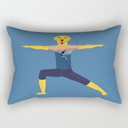 Warrior labrador Rectangular Pillow