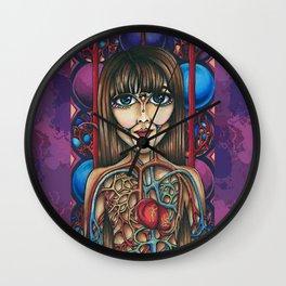 Kintsukuroi by Amy Grigg Wall Clock