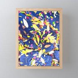 Fallen Leaves #society6 #decor #buyart Framed Mini Art Print
