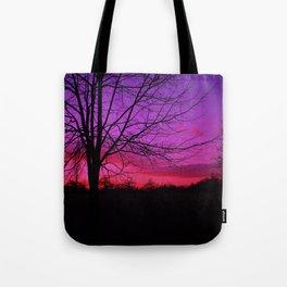 Purple Sunset Tote Bag