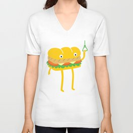 Foot Long Unisex V-Neck