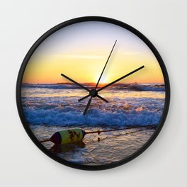 Buoy Sunrise Wall Clock