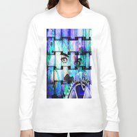 chaplin Long Sleeve T-shirts featuring Chaplin  by Joe Ganech