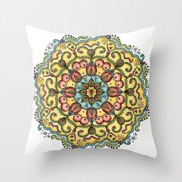 #MeToo Mandala Throw Pillow