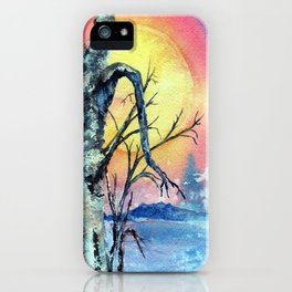 Misty Morning by Maureen Donovan iPhone Case
