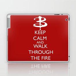 Walk through the fire Laptop & iPad Skin