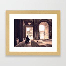 adagio parisienne Framed Art Print