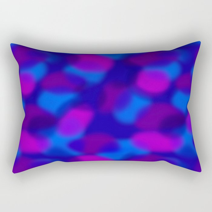 Colored Clouds Rectangular Pillow