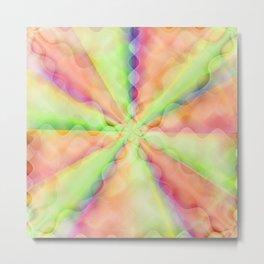 Abstract pastell No. 1 Metal Print