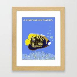 A Fish Called Wanda Framed Art Print