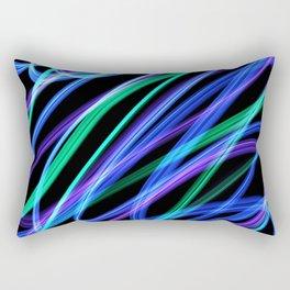 Fluorescent night Rectangular Pillow