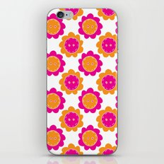 Button Flowers iPhone & iPod Skin