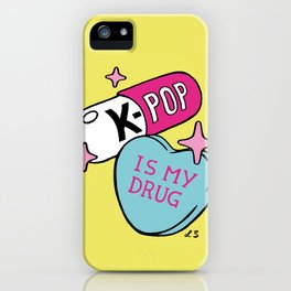 K-POP is my Drug iPhone Case