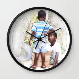 Caribbean Kids Wall Clock
