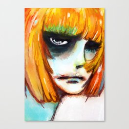 SO HAPPY Canvas Print