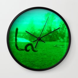 Ronchamp02 Wall Clock