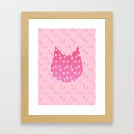 Meows in the Wind Framed Art Print